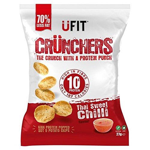 UFit Crunchers Thai Sweet Chilli 27g