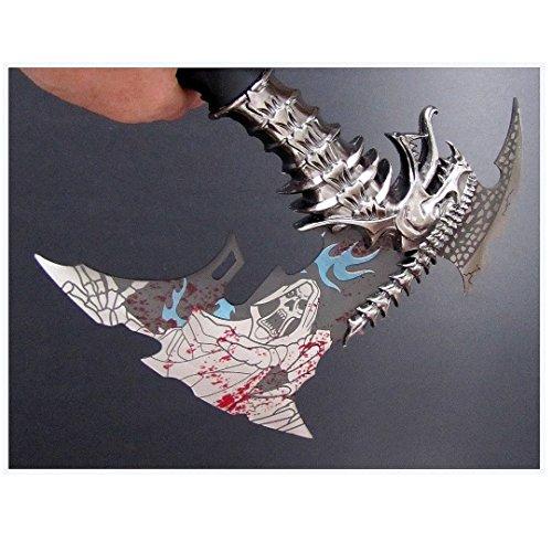 Jaschigo Axt, Drachenaxt mit Skull, EIN echt super Teil - 600 Gramm - ca. 31 cm