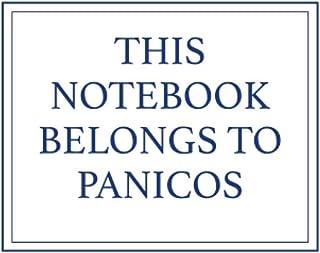 This Notebook Belongs to Panicos