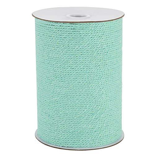 Vivifying Cordon de macramé en coton solide de 220 m de long de 3 mm pour loisirs créatifs, suspension murale, suspension de plantes