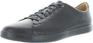 Cole Haan Men's Grand Crosscourt II Sneaker, black leather/black, 10.5 Medium US