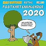Shit happens! Postkartenkalender 2020 - Ralph Ruthe