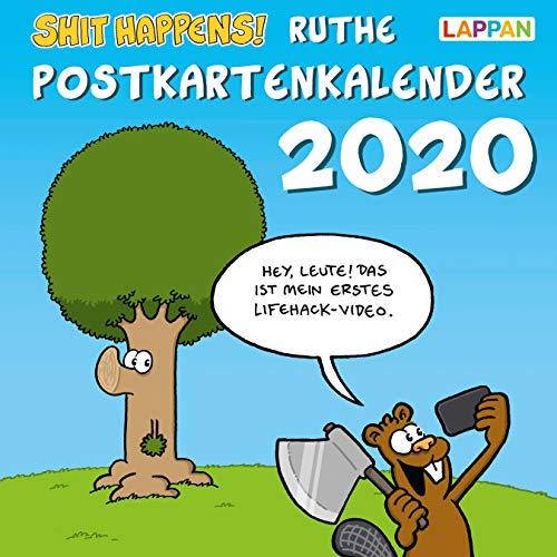 Shit happens! Postkartenkalender 2020