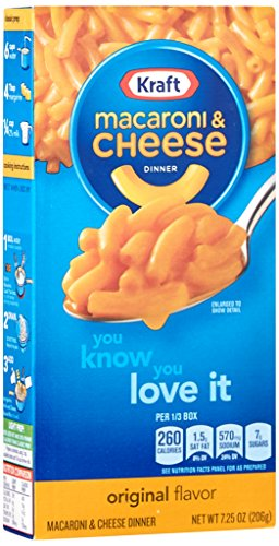 Kraft Macaroni and Cheese The Cheesiest (206g)