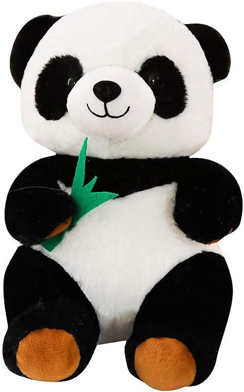 Binory Adorable Plush Panda Toy Accompany Sleeping Cartoon Stuffed Animal Soft Toys 9 84inch Kids Soft Plush Pillow Lumbar Back Cushion Cute Educational Toys Birthday Valentines Xmas Day Gift