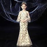 SUNXC Niña Princesa Vestido Disfraz, Vestido de Princesa de Verano-One Kind_150 cm,Vestido de Princesa Fiesta de Vestir Disfraces