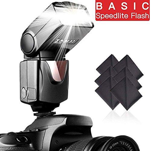 Speedlite Flash SAMTIAN Professional Electronic Camera Flash Speedlight for Canon Nikon Panasonic Olympus Pentax DSLR Cameras