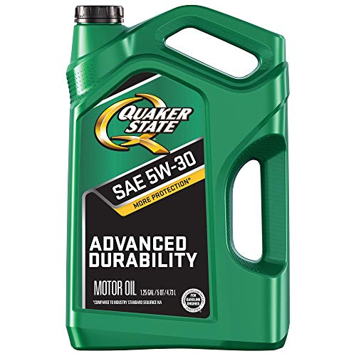 Quaker State Advanced Durability Conventional 5W-30 Motor Oil (5-Quart, Single-Pack)