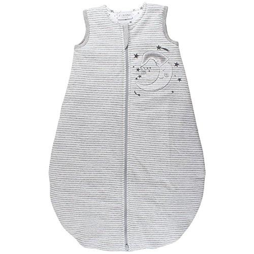 Fixoni 32762 – Gigoteuse avec motif 100% coton gris gris/blanc 74/80