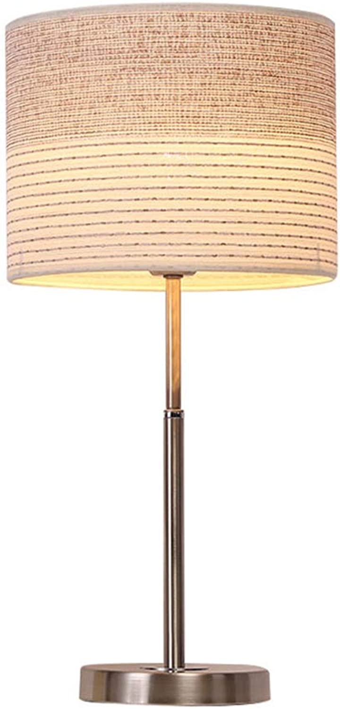 Taideng Nordic lampen einfache moderne tischlampe schlafzimmer nachttischlampe tischlampe warm kreative mosaik schlafzimmer lampe hochzeit tischlampe (Farbe   Beige-A)