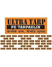 ULTRATARP Plastic Tarpaulin Virgin UV Treated 150 GSM (Yellow, 12 x 18 ft)