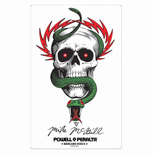Powell-Peralta Skateboard Sticker Bones Brigade Mike McGill Official Reissue New
