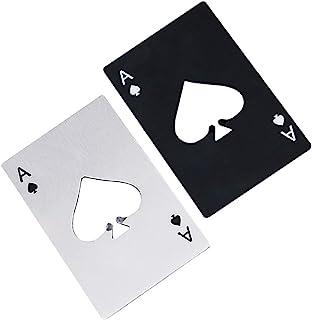 Airoads Ace Of Spades Bottle Opener Credit Card Size Pocker Cap Opener Portable Stainless Steel Can Opener JJ00101PK01JP
