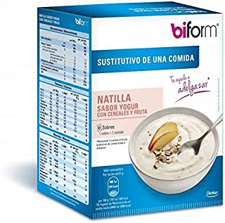 Biform Natillas Yogur y Cereales 6 sobres Dietisa