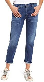 Citizens of Humanity Women's Emerson Button Fly Crop Slim Boyfriend Jeans, Next to You