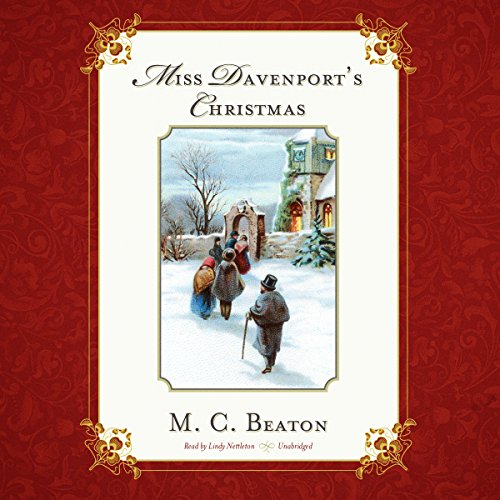 Miss Davenport's Christmas audiobook cover art