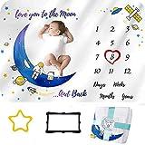 Manta mensual para bebé   Mantas para recién nacidos para