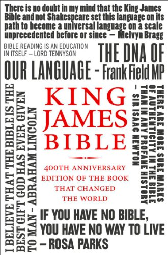 King James Bible: 400th Anniversary edition of the book that changed the world (English Edition)