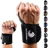 Fitgriff® Muñequeras Gym, Crossfit, Deportivas, Musculación, Gimnasio, Calistenia, Wrist Wraps -...