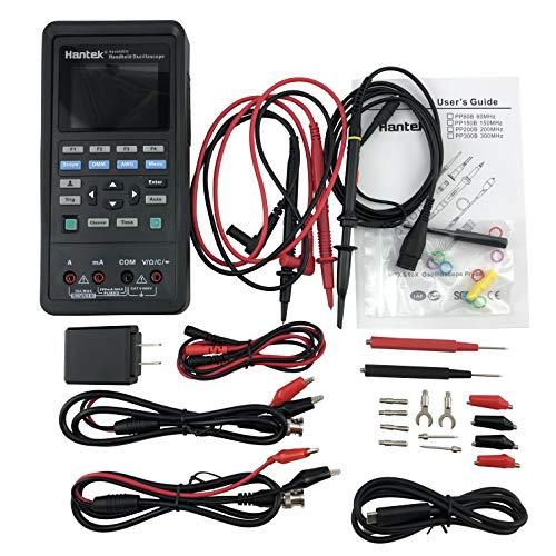 Hantek 2D72 Handheld Oscilloscope 70MHz Waveform Generator Multimeter 3 in 1 Multifunction Tester 2CH+AFG+DMM