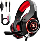 Beexcellent Gaming Headset with Noise Canceling mic, PS4 Xbox One Headset with...
