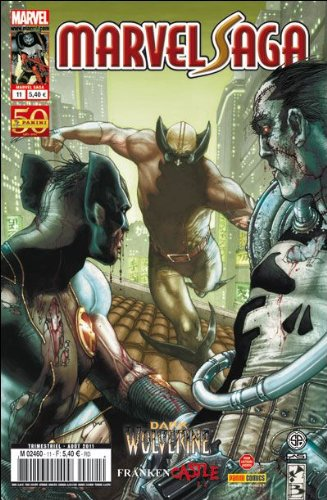 Marvel saga 11 : punisher/dark wolverine (2/2)