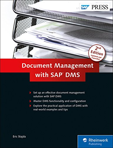 Compare Textbook Prices for Document Management with SAP DMS 2nd Edition ISBN 9781592298624 by Eric Stajda