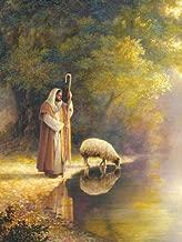 The Good Shepherd by Greg Olsen Religious Jesus Print Poster