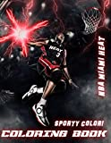 Sporty Color! - NBA Miami Heat Coloring Book: Includes all pictures of the many great players in Miami Heat history