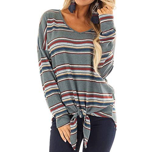 Coloré(TM Sweats à Capuche Femme, Hoodie Sport Sweat-Shirts Pull Fille Sweat Capuche Grande Taille Veste à Manches Longues Hiver Sweatshirt Décontractée Hooded (Gris, M)