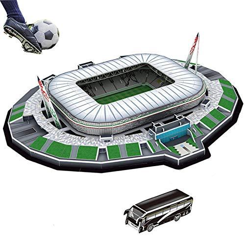 Puzzle 3D Stadio Stadium Jigsaw Bambini Giocattolo Puzzle Stai Cercando Il Regalo Perfetto Per Un Appassionato Di Calcio? Juventus Stadium, JTIH® Multi Colored