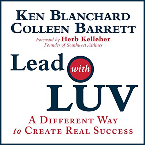 Lead with Luv  audiobook cover art