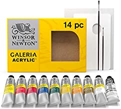 Winsor & Newton Galeria Acrylic Paint, 60ml Tubes, Set of 15