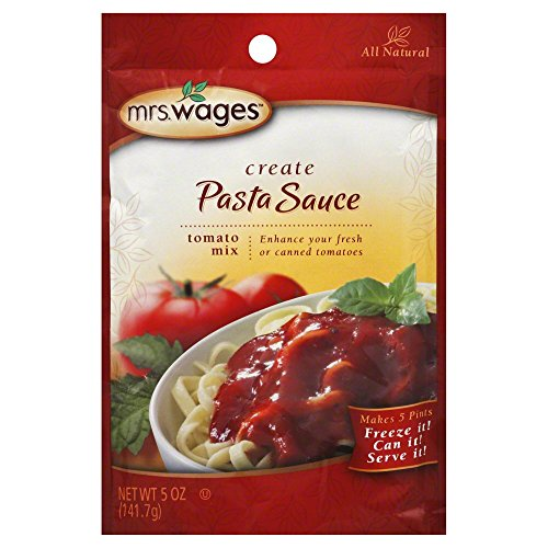 Mrs. Wages Pasta Sauce Tomato Mix Pack of 12