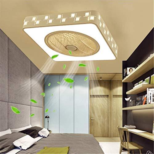 HTL Luz Ventilador de Techo Luces Decorativas de Control Remoto Luz de Techo Moderna Leddimmable Techo Del Accesorio de Iluminación de la Sala de Estar Habitación de Los Niños Cocina Restaurante Ofic