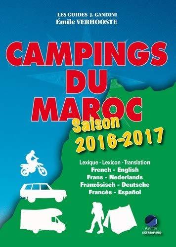 Campings du maroc 2016-2017 (Guide J. Gandini)