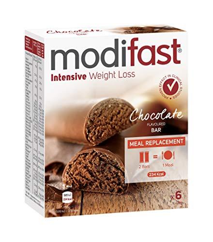 Modifast Snack & Meal Lunchreep Melkchocolade, 31 g, 6 Stuk, 6 Units