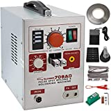Mophorn 709AD Pulse Spot Welder 0.3mm Battery Welding Machine 110V Battery Spot Welder & Soldering Station Portable Pulse Welding Machine For Battery Pack 18650 14500 & other Lithium Batteries