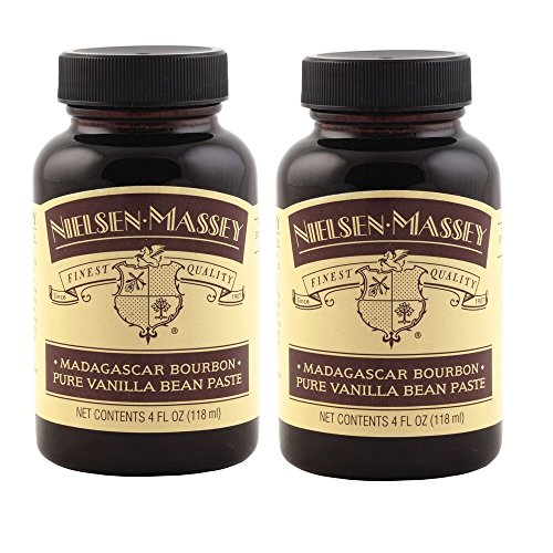 Nielsen-Massey Madagascar Bourbon Pure Vanilla Bean Paste, with Gift Boxes, 4 ounces, 2 pack