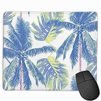 SZxiaoyang Gaming Mouse Pad Custom,Mousepad Non-Slip Rubber Rectangle Mouse Pads for Computers Desktops PC LaptopTrees Floral Pattern