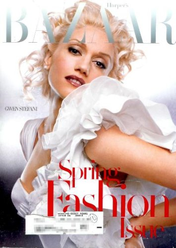 Harper's Bazaar Magazine - March 2005 - Gwen Stefani Cover!!