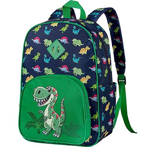 Preschool Backpack, 15' Dinosaur Backpacks for Boys