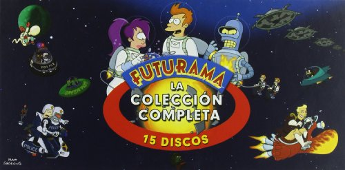 Futurama (Temporada 1-4) [DVD]