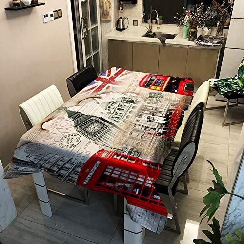 WELQUN Serie De Manteles Tejido De Poliéster Impreso Cubierta De Mesa Decoración del Hogar Paño Tetera Mantel Hotel