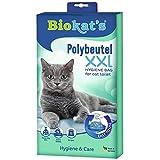 Biokat's XXL, bolsas desechables - Para colocar en el arenero para gatos - Cambio higiénico y sencillo de la arena para gatos, 12 unidades