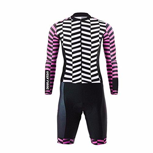 Uglyfrog Skinsuit Bici 2018 Nuovi Uomini Traspirante Primavera Autunno A Maniche Lunghe Ciclismo Body Skinsuit All'aperto Sportswear Abbigliamento Triathlon MZ10