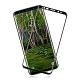 [2 Piezas] Cristal Templado para Samsung Galaxy S8 Plus [9H Dureza] [Antihuellas Dactilares] [Sin Burbujas] Alta Sensibilidad y Definición, Protector de Pantalla para Samsung Galaxy S8 Plus