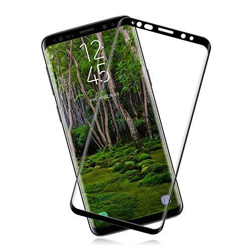 [2 Piezas] Cristal Templado para Samsung Galaxy S8 Plus [9H Dureza] [Antihuellas...