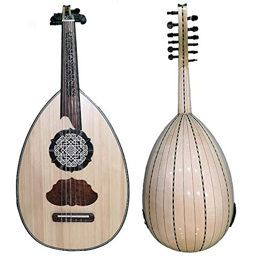 Deluxe Elektroakustische Ägyptische Oud Toliman - Orientalische Musik, arabische Luth - Orientsound