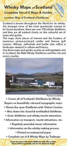 Whisky Maps of Scotland: Complete Set of Malt Whisky Maps and Guides